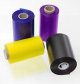 Grupo de rollos de transfer para impresora — Stock Photo