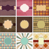 Vector vintage backgrounds. — Stock Vector