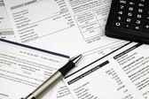 Betalen van rekeningen — Stockfoto