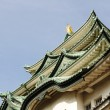 Nagoya Castle roofs — Stock Photo #7247863
