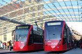 Tram-trains — Stock Photo