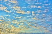 Autumn Sunset Clouds — Stock Photo