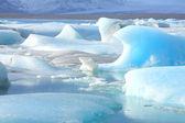 这些冰山 — 图库照片