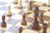 Chess game close up — Stock Photo