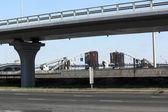 Otoyol ve köprüler — Stok fotoğraf