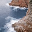 Costa Brava cliff — Stock Photo