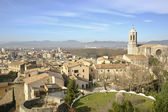 Girona cathedral — Foto de Stock