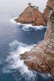 Costa brava-klippe — Stockfoto