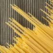 Stock Photo: Spaghetti in diagonal