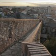 Girona and its walls — Stock Photo
