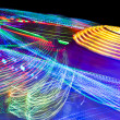 Motion fairground — Stock Photo