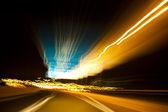 Highway speed — Stock Photo