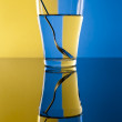 Water refraction — Stock Photo