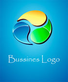 Logo Symbol Business — Stock Vector