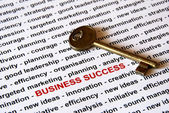 The key of business success — Stock Photo