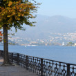 Foto Stock: Lakeside in Como, Italy