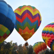 Hot air balloons — Stock Photo #7717881