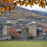 Fenis castle near Aosta (Italy) — Stock Photo #7718036