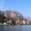 Lake Como from a boat — Stock Photo