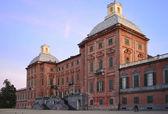 Racconigi Palace, north side — Stock Photo