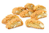 "Italian Almond Biscuits ""Cantucci"" — Stock Photo"