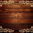 Wood pattern frame — Foto Stock #7789719