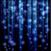 Blue Glitter Background — Stock Vector