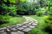 Madrid. Jardines del Campo del Moro (Campo del Moro Gardens.) — Stock Photo