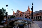 Sevilla. Plaza de España — Stock Photo