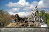 Madrid. Fountain of Cibeles — Stock Photo