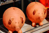 Money Boxes - Pork — Stock Photo