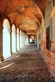 Aranjuez. Arcade — Stock Photo