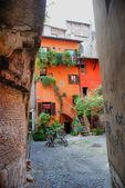 Roman street — Stock Photo