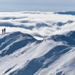 The mountain top winter — Stock Photo