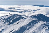 The mountain top winter — Stock Photo