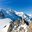 Stock Photo: Mont Blanc - l'Aiguille du Midi