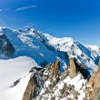 Mont Blanc - l'Aiguille du Midi — Stock Photo #7563001