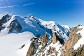 Mont Blanc - l'Aiguille du Midi — Photo