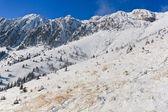Winter mountain scenery — Stock Photo