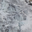 Стоковое фото: Mountain stream in winter
