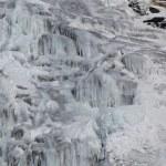 horské bystřiny v zimě — Stock fotografie