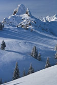 Dağ tepe — Stok fotoğraf