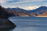 Mountain lake, Fagaras Mountains, Romania — Foto Stock