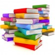 Stock Photo: Books multicolor
