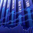 Stock market abstract background — Stock Photo