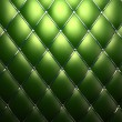 Green genuine leather pattern background — 图库照片