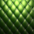 Green genuine leather pattern background — Stock Photo