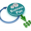 Business plan concept - Stock Photo