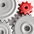 Gears background — Stockfoto