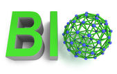 Molecular Bioproduct concept — Stock Photo